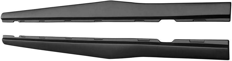 ZL1 Style Black PP Side Extension Rocker Panels NINTE Side Skirts for 2010-2015 Chevrolet Camaro