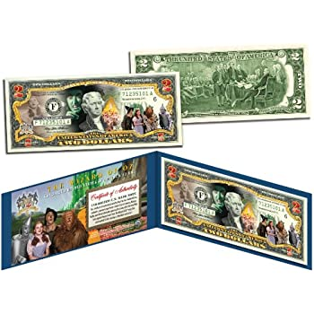 WIZARD OF OZ Movie JFK Kennedy Half Dollar U.S 5-Coin Set OFFICIALLY LICENSED