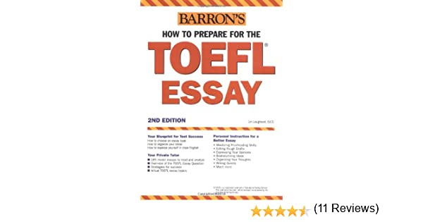 Sample Essays for the TOEFL   Writing Test  TWE    Answers to All