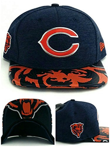 208ec8df3 Carolina Panthers Draft Day Hat. New Era NFL Chicago Bears 2017 Draft On Stage  9Fifty Snapback ...