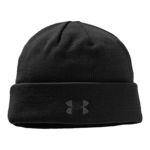 Under Armour Men's Tactical Stealth Beanie (Black/Black)](Under Armour Tactical Hat)