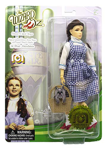"""Mego Action Figures, 8"""" Wizard of Oz - Dorothy (1st Time Available in Single Pack)  (Limited Edition Collector"""