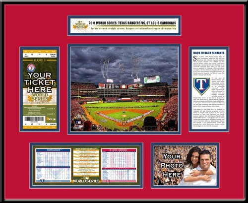 1960 World Series Canvas Mega Ticket
