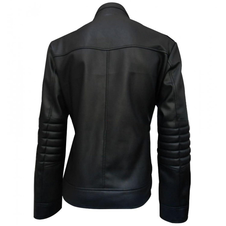 Aaron Paul Breaking Bad Season 5 Jesse Pinkman Faux Black Jacket