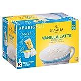 vanilla gevalia - Gevalia Vanilla Latte Espresso Coffee with Froth Packets, K-Cup Pods, 6 Count