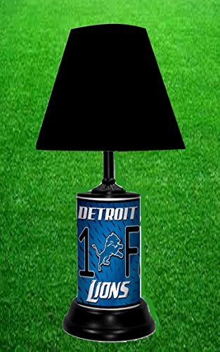 - DETROIT LIONS TABLE LAMP