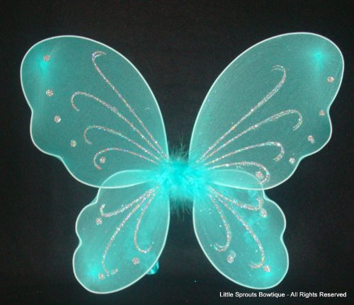 Turquoise Fairy Wings - Butterfly - Fairy Wings -