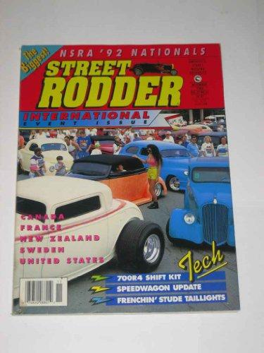 Street Rodder November 1992 700R4 Shift - Kit Rodder