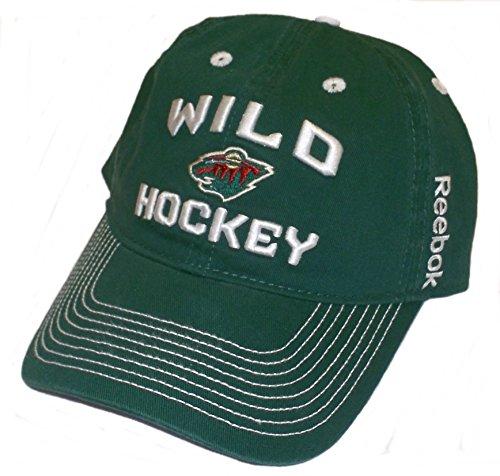 - Minnesota Wild Locker Room Slouch Strap Back Reebok Hat - Osfa - EU96Z