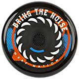 Nerf Frisbeat Waterproof Bluetooth Frisbee Speaker by Sakar, Black