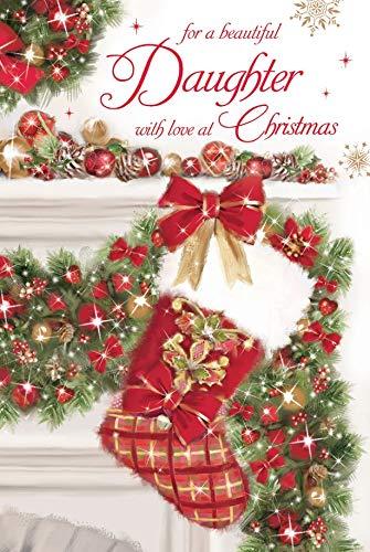 Pour Une Jolie Fille Avec Amour à Carte De Noël Par Grass