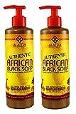 Alaffia – Authentic African Black Soap, Tangerine Citrus – 16 oz (2-pack) For Sale