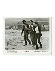 MOVIE PHOTO: Willie and Phil-Michael Ontkean, Ray Sharkey, and Margot Kidder-8x10-B amp;W-Still