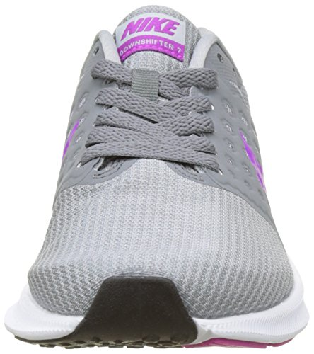 Grey Gris para 7 Black Nike Zapatillas Wmns Mujer Downshifter de Violet White Cool Wolf Hyper Running Grey wx8qvcU8C