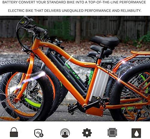 Wenwenzui-ES La Bicicleta eléctrica Potente de 36V 18AH 648W ...