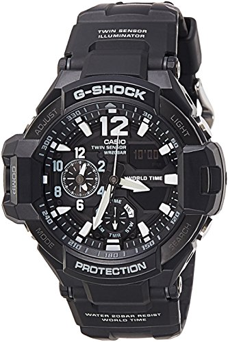 Casio G SHOCK GA 1100 1ADR COCKPIT Aviation