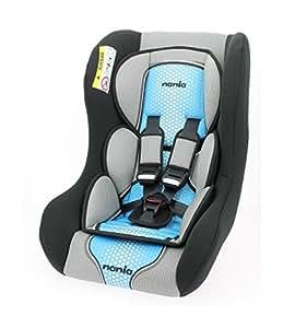 Asiento de coche de 0E 25kg,grupo 0/1/2, limitador del recién nacido, 3estrellas Test TCS,almohada y vaina para máximo confort,arnés de 5puntos