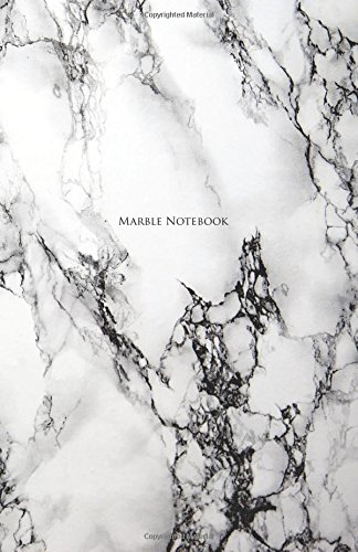 Marble Notebook: White Marble Notebook: A5(5.5 x 8.5)130 Blank Pages: Notebook To Write in: Perfect gift for him, dad and grandpa PDF