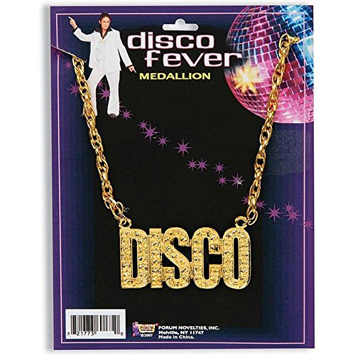 Forum Novelties Unisex Disco Necklace