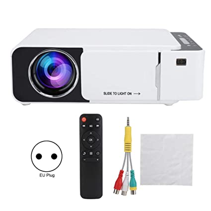Tonysa Home Cinema Proyector HD LCD LED Mini proyector de Bolsillo ...