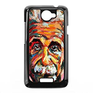 Einstein HTC One X Cell Phone Case Black g1851442