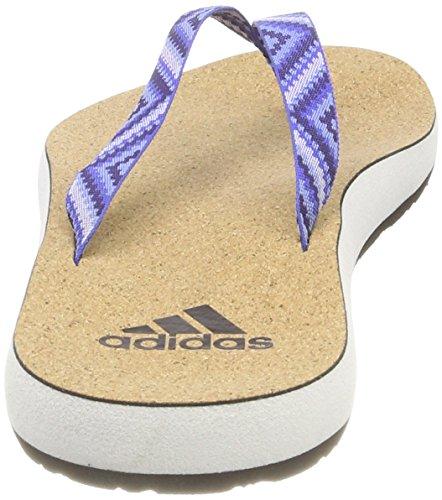 Eezay Piscina Tinnob 000 Mujer adidas Blanco Ftwbla de para Zapatos Azucen Flop Playa y Flip Cork T4Rg4dqxF