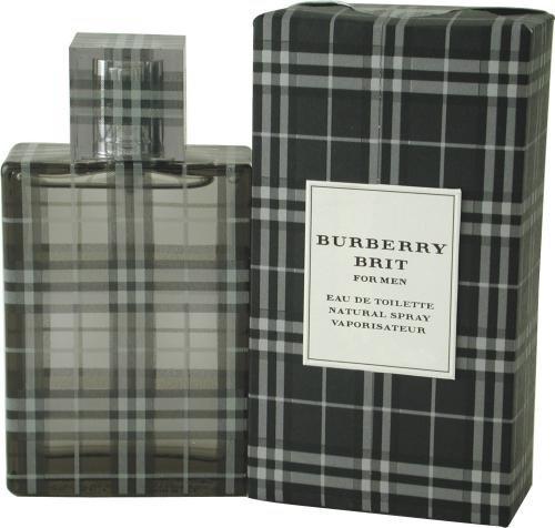 Burberry Brit de Burberry pour les hommes. Eau de Toilette Vaporisateur 3.3 Onces