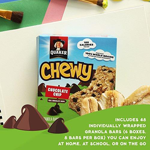 030000311820 - Quaker Chocolate Chip Bars - 0.84 oz - 8 Count carousel main 14