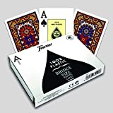Fournier Maya Bridge Size Jumbo Index Playing Cards
