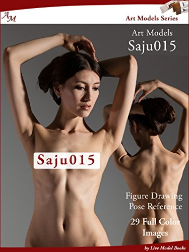 Art Models Saju015: Figure Drawing Pose Reference (Art Models Poses)