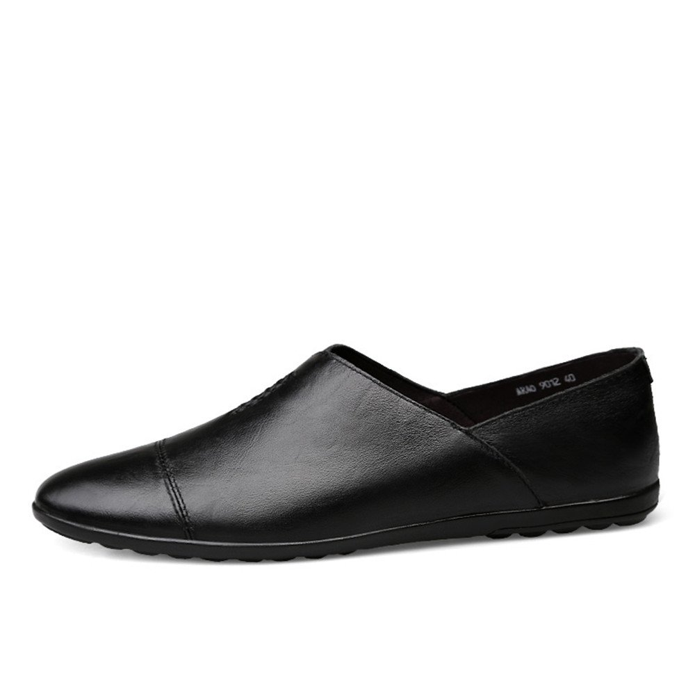 Tacco Piatto in Pelle PU Mocassino Mocassino Mocassino da Uomo Slip on Driving Style Loafer Scarpe da Cricket 37161f