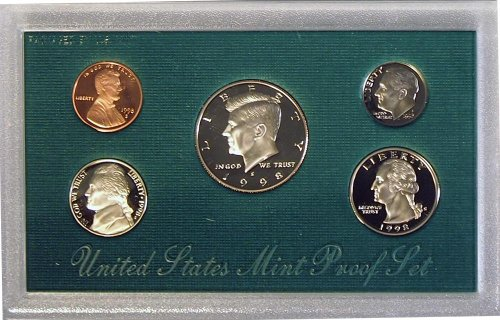 (1998 S US Mint Proof Set OGP)