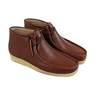 CLARKS - Mens Wallabee Boot Low Boot, Size: 7 D(M) US, Color: Cola Leather (B072JLRTY4) | Amazon price tracker / tracking, Amazon price history charts, Amazon price watches, Amazon price drop alerts