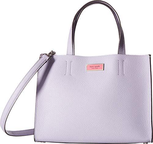 - Kate Spade New York Women's Sam Medium Satchel Frozen Lilac One Size