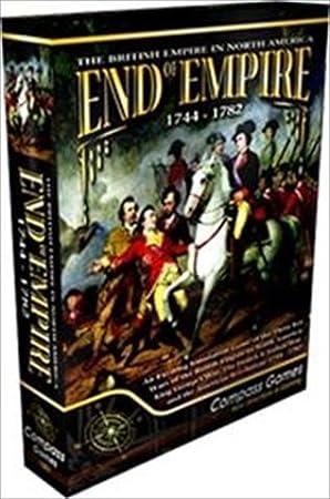 CPS: End of Empire 1744-1782, the British Empire in North America, Board Game by CPS Compass Games: Amazon.es: Juguetes y juegos