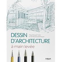 DESSIN D'ARCHITECTURE À MAIN LEVÉE N.É.