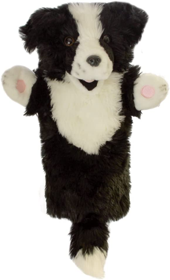 The Puppet Company Long Sleeves Border Collie Hand Puppet