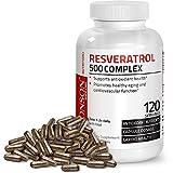 Bronson Resveratrol 500 Complex, 120 Capsules
