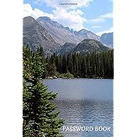 "Password Book: Internet Password Organizer   120 Pages   6"" x 9""   Alphabetical Order Password Logbook"