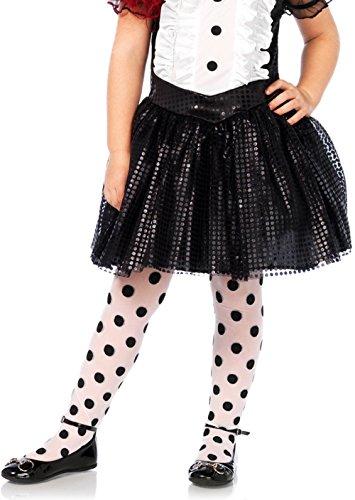 Leg Avenue Children's Polka Dot Tights