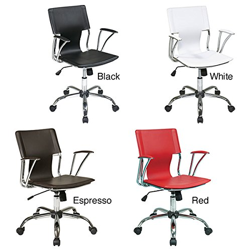 Affordable and Ergonomic Office Star Dorado Clerical Chair w
