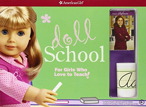 - American Girl Doll School: For Girls Who Love to Teach! [With 2 Posters and Chalkboard/Whiteboard, Faux Library Books, Histori and Map and Easel] by Trula Magruder (Editor) (13-Feb-2013) Hardcover