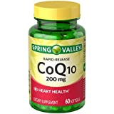 Cheap Spring Valley Rapid-release Coq10 200 Mg, Heart Health, 60 Softgels