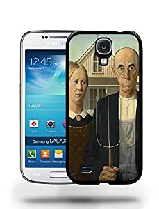 American Gothic Painting Artwork Phone Case Cover Designs for Samsung Galaxy S4
