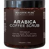 Coffee Scrub, Natural Body Scrub for Skin Care - 10 Oz