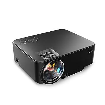 Lacaca - Mini proyector de vídeo T20 1080P, a Led, de 1500 lúmenes ...