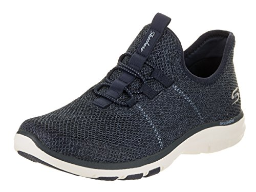 6 US Navy Women's Galaxies Casual On Skechers Women Air Shoe q0vpx6wOw