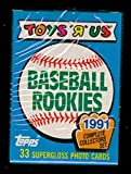 "1991 Topps Baseball Toys ""R"" Us Rookies Complete Box Set FACTORY SEALED Card R"