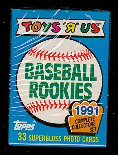 1991 Topps Baseball Toys