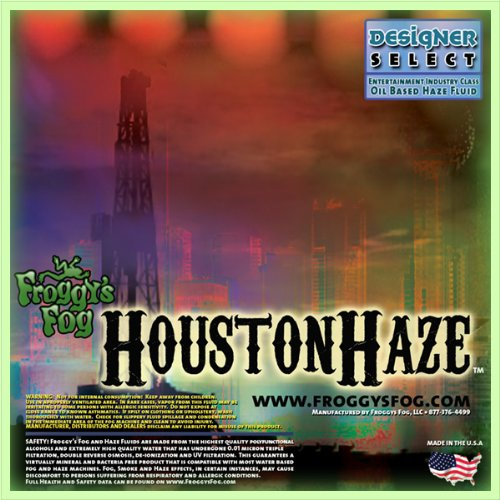 1 Gal - Houston Haze - DS Oil Based Juice Fluid for Haze Generators by Froggys Fog (Image #1)